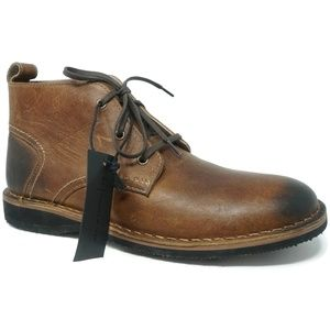 Andrew Marc Dorchester Chukka Boots Size 8